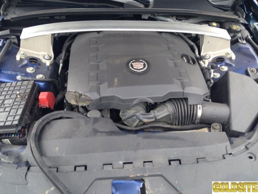 Cadillac CTS 2012 иномарка под ремонт