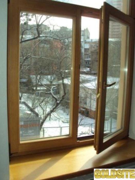 Окна из дуб,  сосны и ясеня