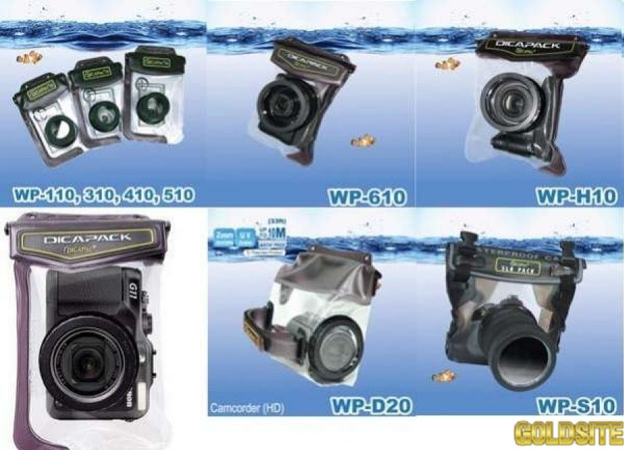 подводный ,   DicaPac,   WP-ONE,  WP-570,   WP-610 ,   WP-H10