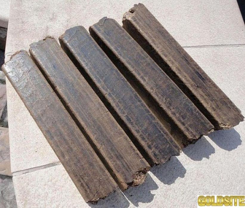 Топливные брикеты Pini&Kay из опила древесного
