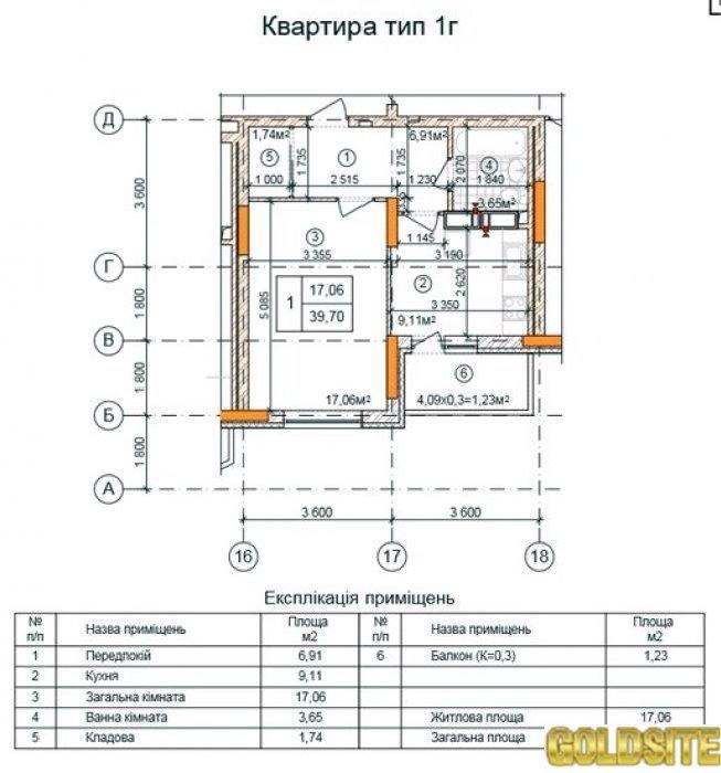 Отличное предложение - 6 этаж  Закревского ул.   95.   ЖК Милославичи,  Дом 4.
