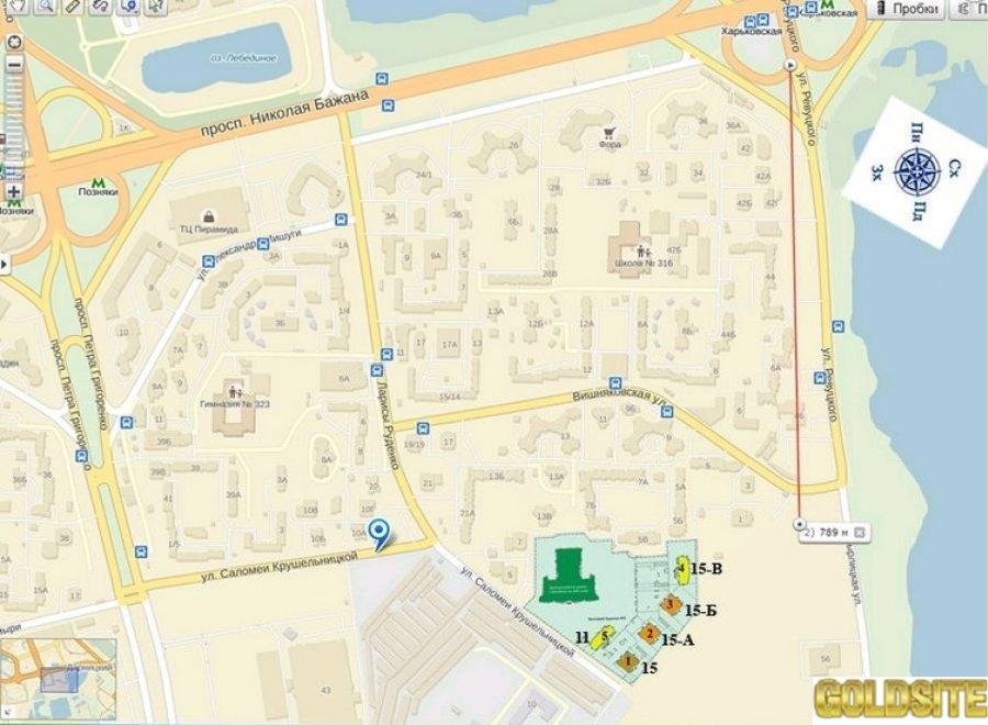 Отличное предложение - 6 этаж  Крушельницкой ул.   15.   Крушельницкая