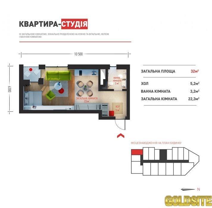 Без комисии!   Рыбалко Маршала ул. , 3А.  13 этаж.   Бизнес клас ЖК Элизиум