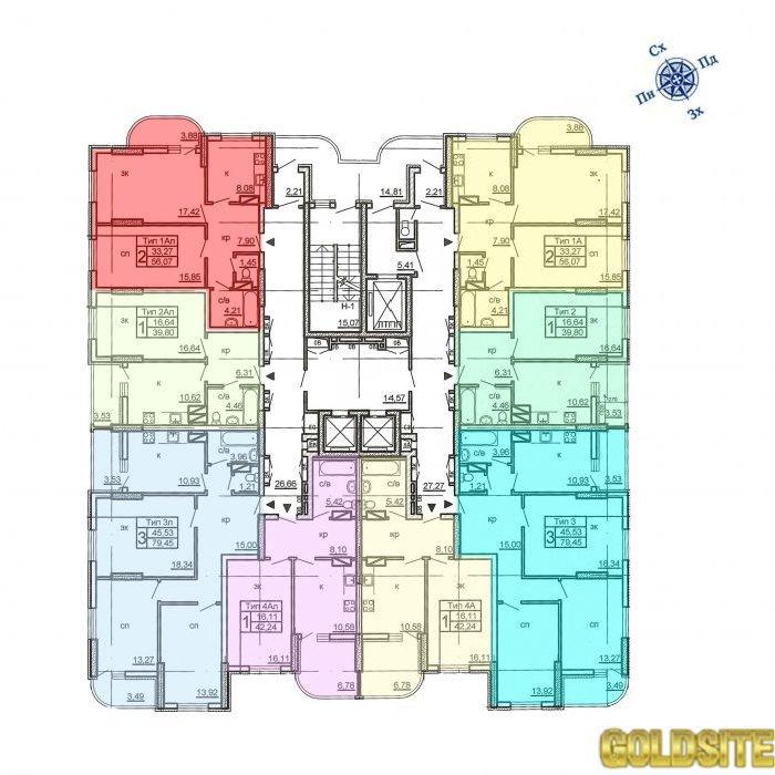 Супер 1 квартира  Крушельницкой ул.  15 .   Крушельницкая
