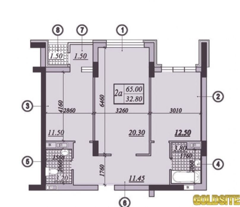 Супер 2 квартира  Подвысоцкого ул.  4 .   ЖК на ул.  Подвысоцкого 4В
