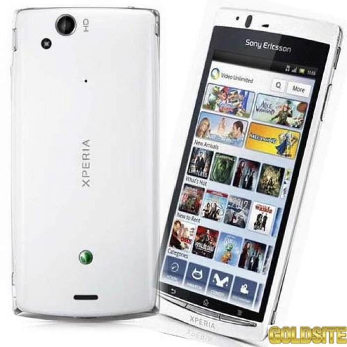 Goldsite Новий Смартфон Sony Ericsson Xperia Arc S White