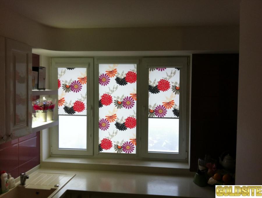 Изготовление,   установка и ремонт рулонных штор и жалюзи