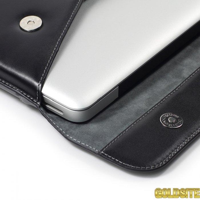 Кейс сумка  для премиум ноутбук,   Макбук  Apple.  100 %  кожа.