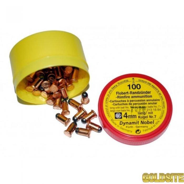 Goldsite Flobert 4 mm 0.  5 г 100 шт