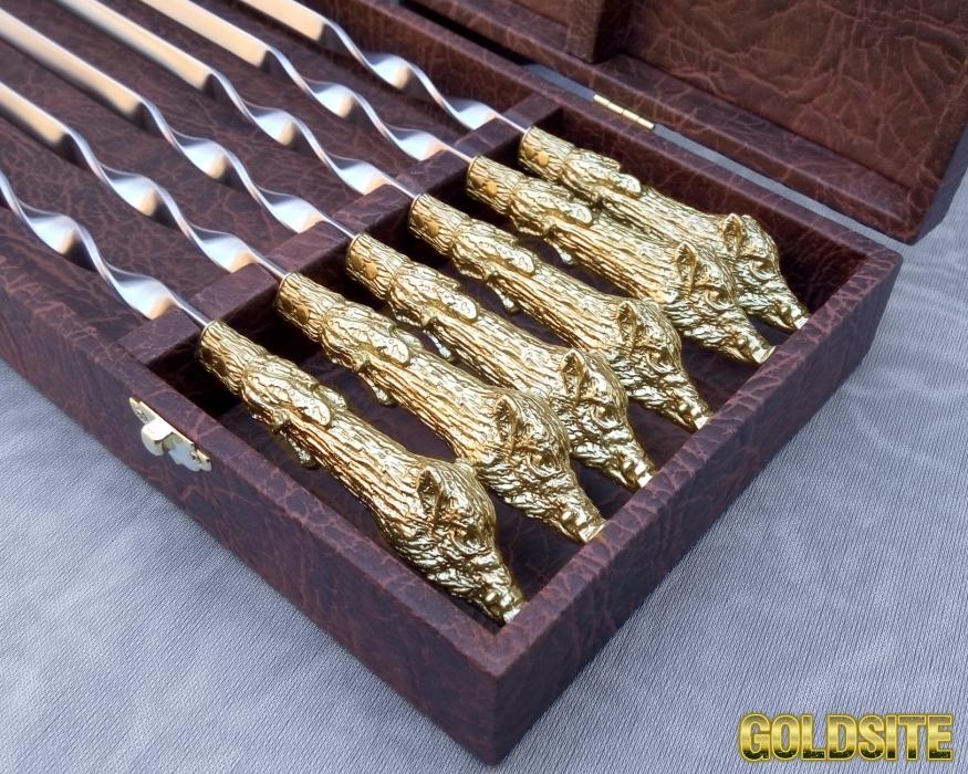 Набор шампуров Вепрь№2 в футляре