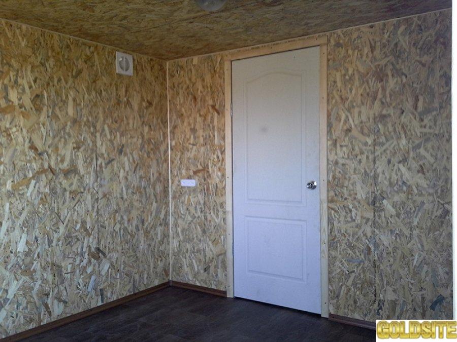 Дачный домик из профнастила декоративного 6,  0х3,  0х2,  3 м