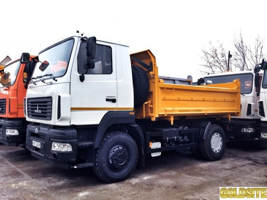 Самосвал МАЗ-5550С5-520-021