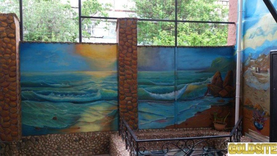 Феодосия.  Приятный отдых у Чёрного моря