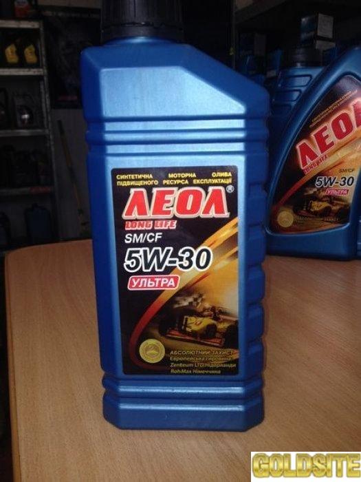 """Продам моторное масло """"ЛЕОЛ  УЛЬТРА SAE 5W-30  API SM/CF"""