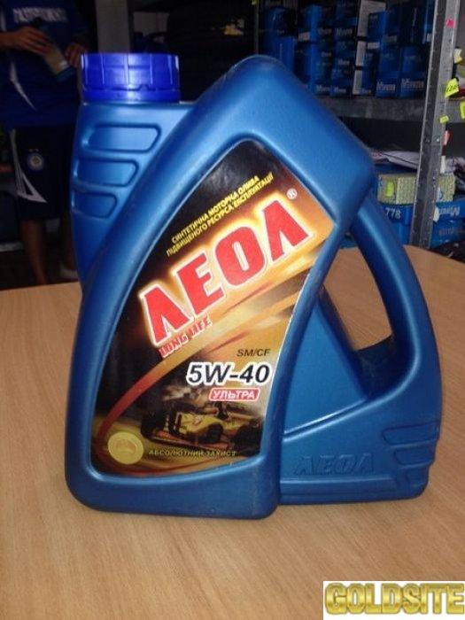 Продам моторное масло ЛЕОЛ  УЛЬТРА SAE 5W-40  API SM/CF