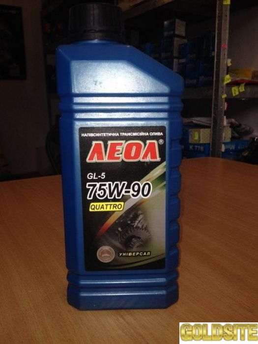 Продам моторное масло Леол -Quattro  універсал SAE 75W-90 API GL-5