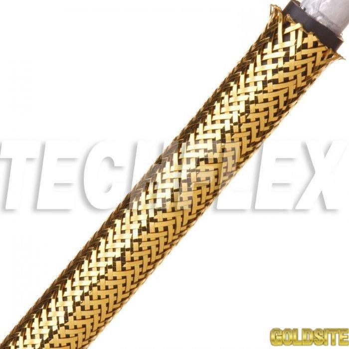 CHROME XC. Декоративная круглая эластичная кабельная оплетка