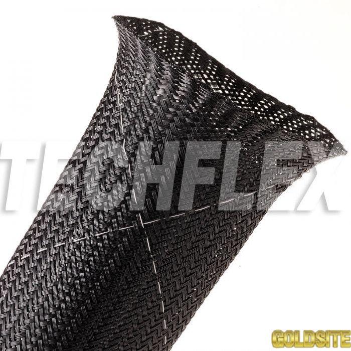 Clean Cut FR - огнеупорная круглая эластичная кабельная оплетка