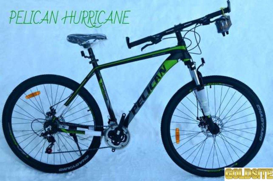 Велосипед Pelican Hurricane 29 колеса (найнер)   алюминий (пеликан)
