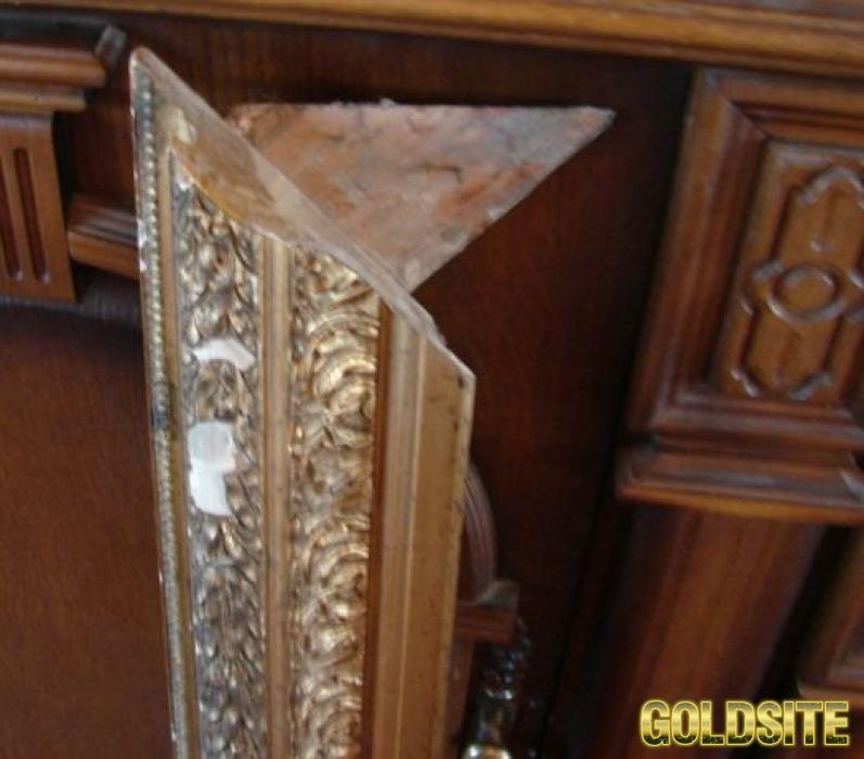 Реставрация старинных рам. Восстановление лепнины