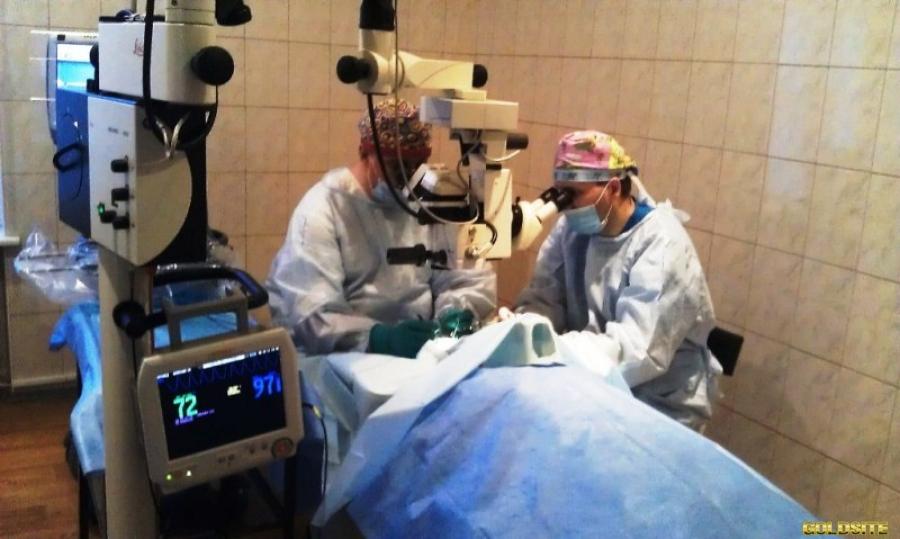 """Лечение катаракты в клинике """"Оптимед"""""""