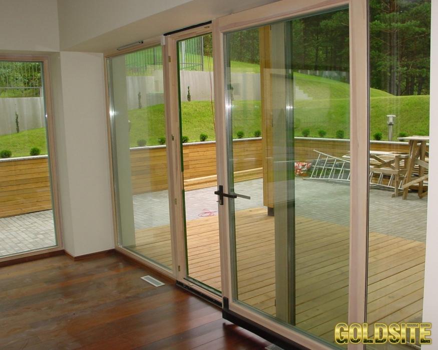 Goldsite Раздвижные пластиковые двери и окна по доступной цене.