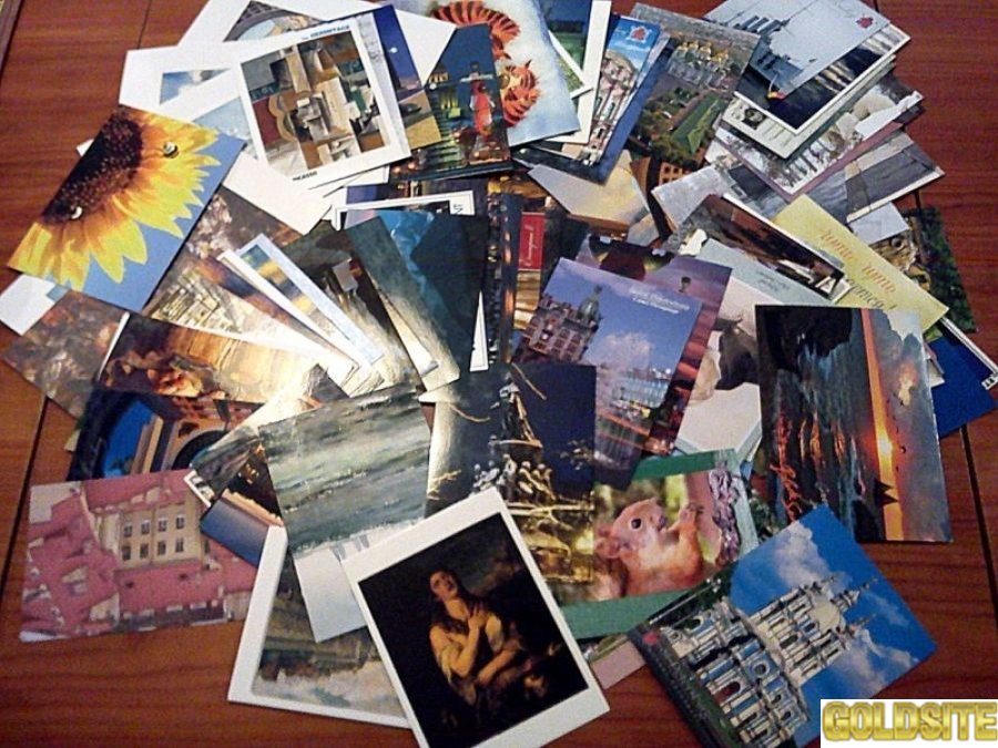 Продам советские открытки 1930-1989 гг.