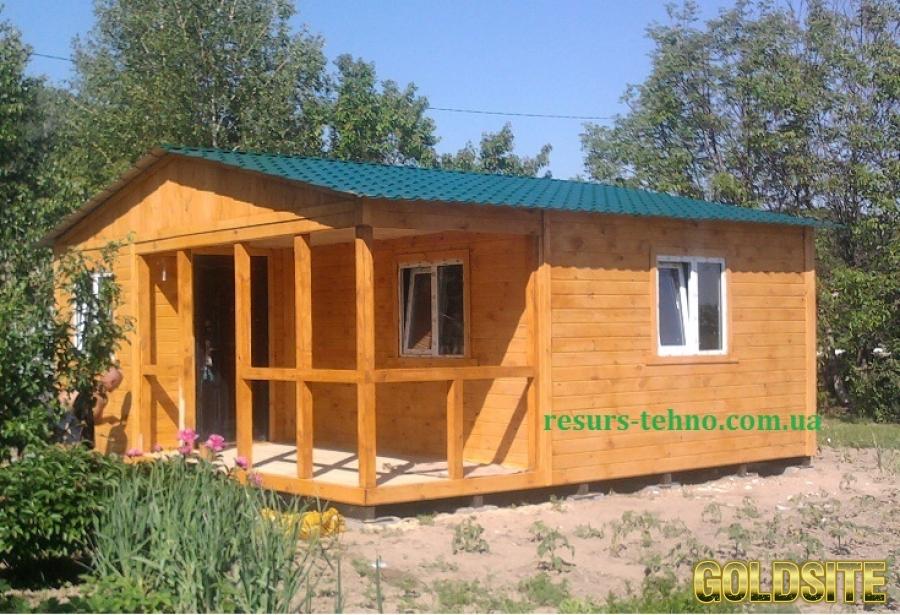 Дачные домики недорогие в любое время года.