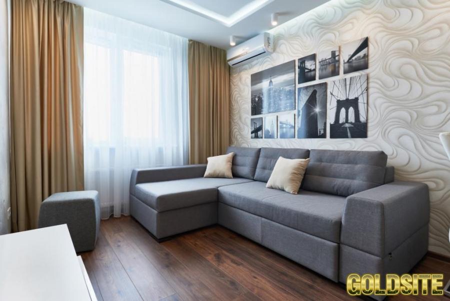 Квартира посуточно Киев двухкомнатная в новом доме,   Лукьяновка