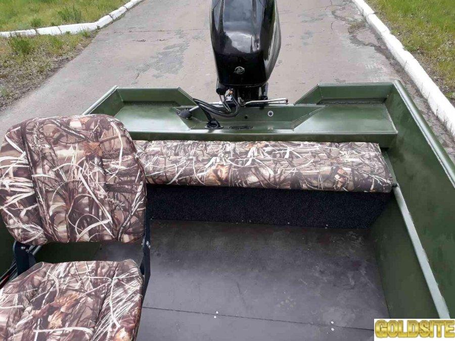 Лодка алюминиевая PowerBoat 420 одноконсольная