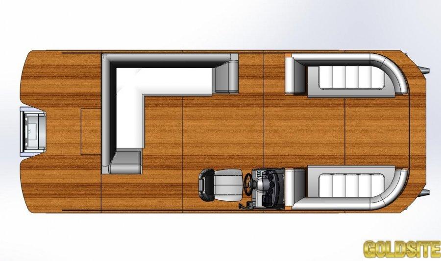 Понтонный катер Powerboat PB650