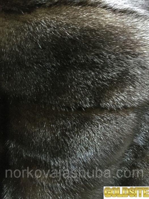 Норковый полушубок трансформер