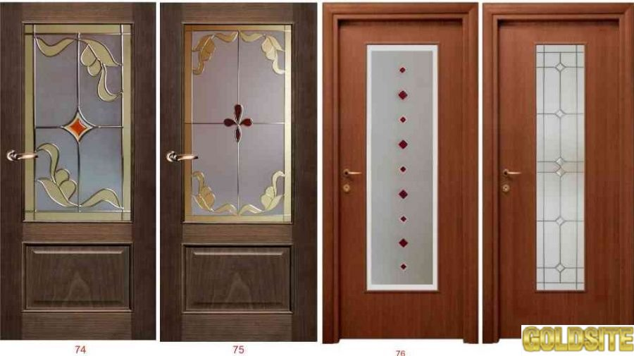 Художественные витражи для межкомнатных и входных дверей.