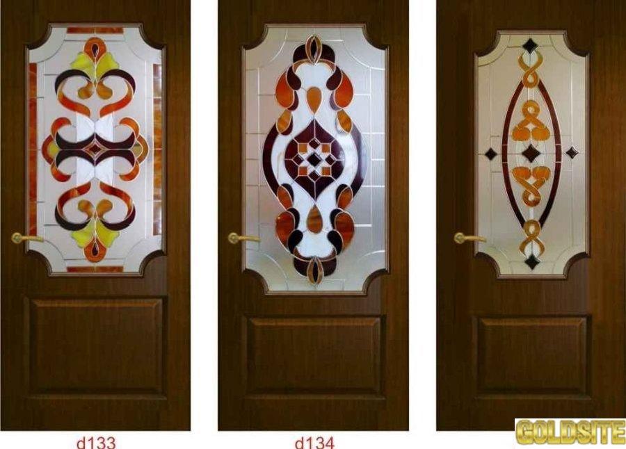 Goldsite Художественные витражи для межкомнатных и входных дверей.