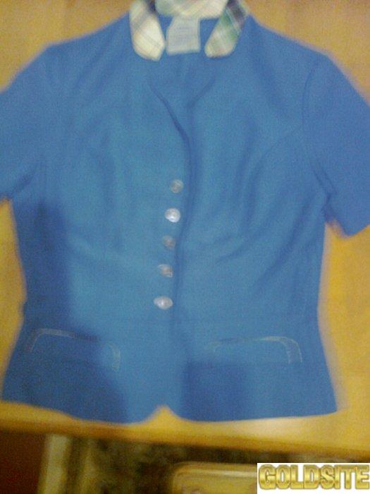 Красивый синий пиджак отличного качества,  Германия.  Новый