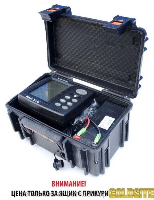 Ящик для эхолота с розеткой 12 вольт.