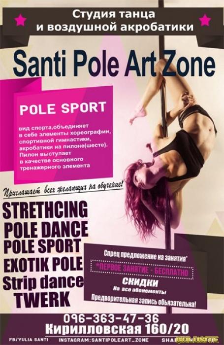 Exotic Pole Dance (экзотик пол дэнс)  - Студия танца на пилоне