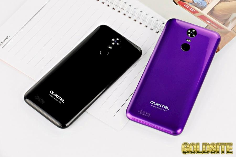 Скоростной оригинальный смартфон Oukitel C8 2 сим, 5, 5 д, 4 яд, 16 гб, 13 Мп,  3000 мА/ч.