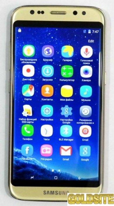 Мобильный телефон Samsung S8 mini 2 сим, 5, 1 дюй, 4 яд, 5 Мп,  IPS\3G.
