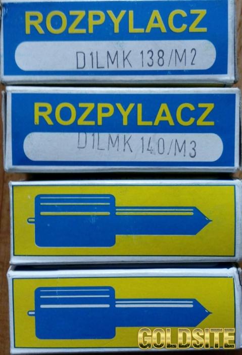 Распылители D1LMK138/M2;   D1LMK140/M3 для двигателей SW400 и 6ct107