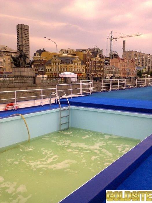 консервация бассейнов на зимний период