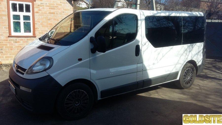 Аренда микроавтобуса Opel Vivaro 7 мест
